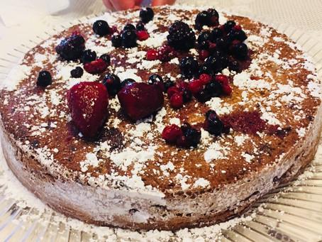 Red Fruits Cake Recipe