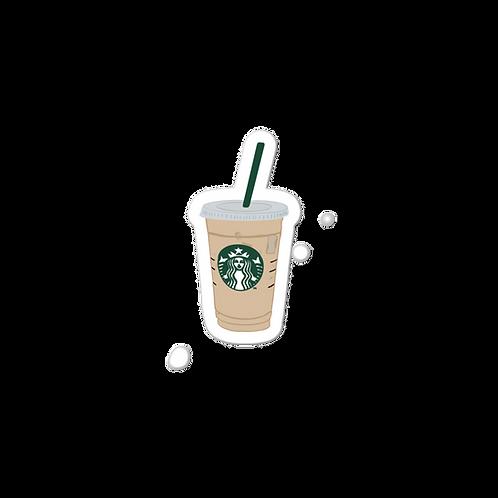 Starbucks Iced Coffee Sticker