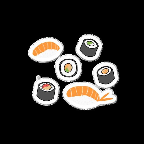 Sushi Feast Sticker