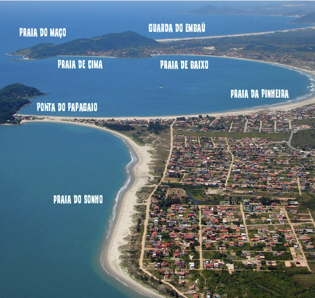 Praias Pinheira