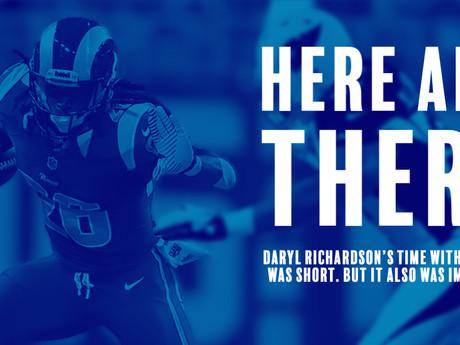 Rams History: Daryl Richardson was a Ram.