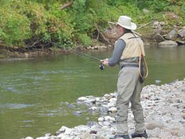Fishing on The Battenkill