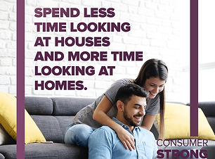 Consumer Strong - Spend Less Time Lookin
