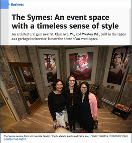 The Symes - Toronto Event Venue