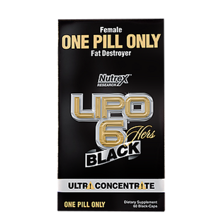 LIPO 6 BLACK HERS ULTRA CONCENTRATE 	60 CAPS