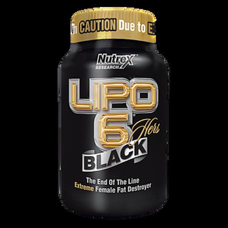 LIPO-6 BLACK HERS 120 CAPS