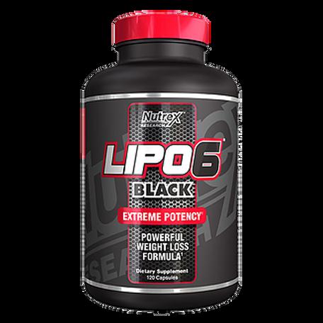 LIPO-6 BLACK 120 CAPS