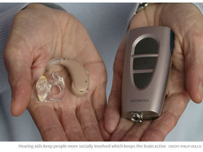 Hearing aids slow dementia by '75%', new study finds