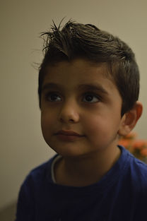 Calgary becomes home to young Syrian refugee boy