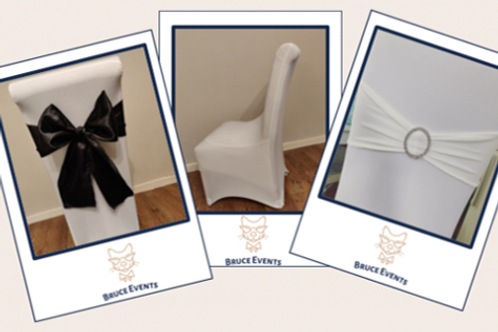 Chair Covers & Sashes: Birthday & Other Event Hire