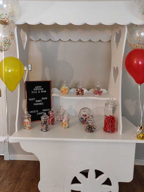 Candy Cart: Wedding Hire