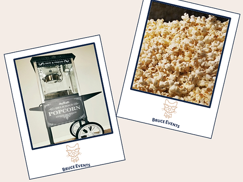 Popcorn Machine: Birthday & Other Event Hire