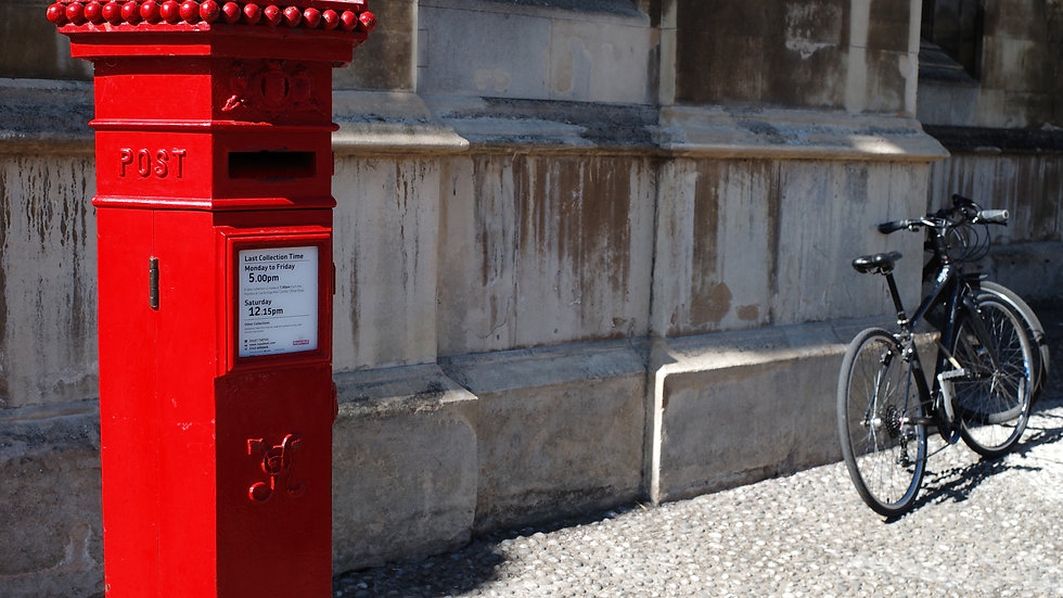 King's College Post Box