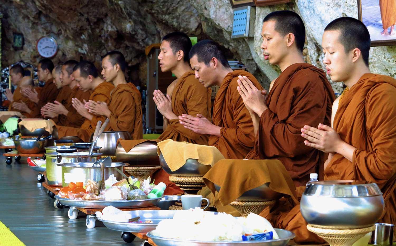 Alms ceremony