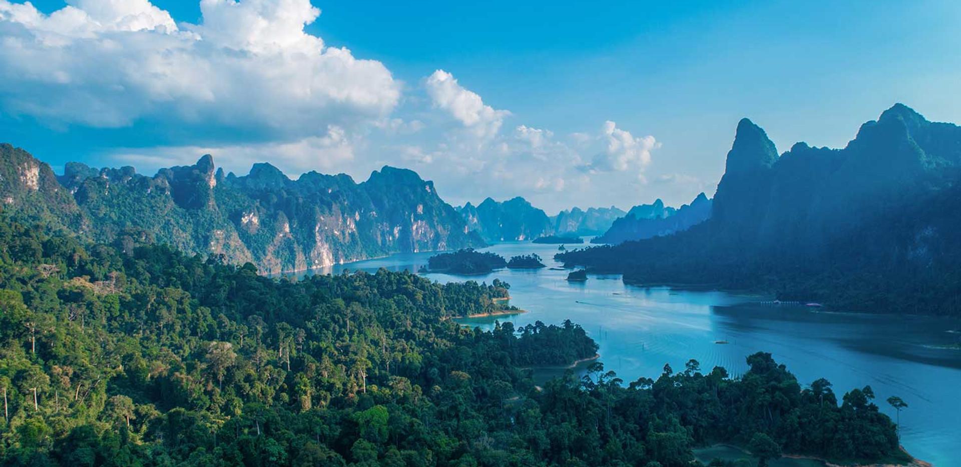 Thailand Yoga Holidays Destination Emerald Lake Video