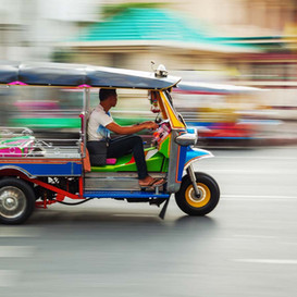 Tuk-tuks : Do people really get around on these in Thailand?