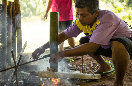 Jungle cooking