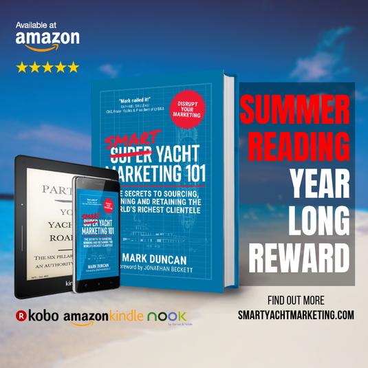 Smart Yacht Marketing 101 - Summer Reading