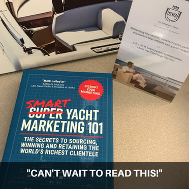 Smart Yacht Marketing 101- shot posted by reader