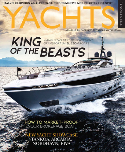 Smart Yacht Marketing 101 makes the cover of Yachts International (February 2019)