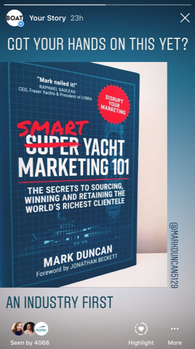 Boat International post about Smart Yacht Marketing 101