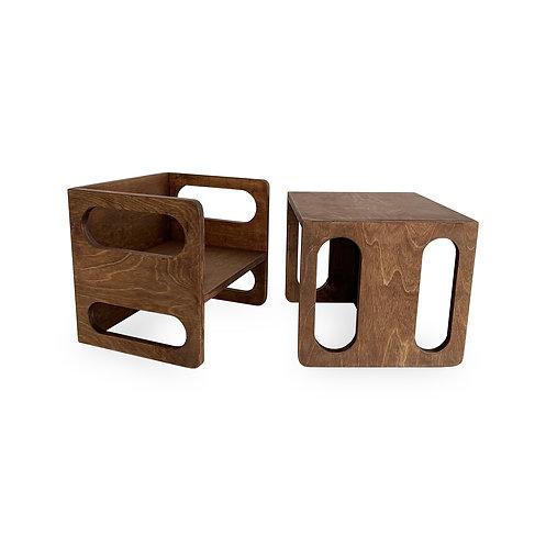 KIMBOO™ Cubes Set Choco Brown