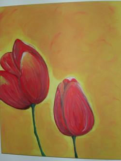 Stillleben Tulpen