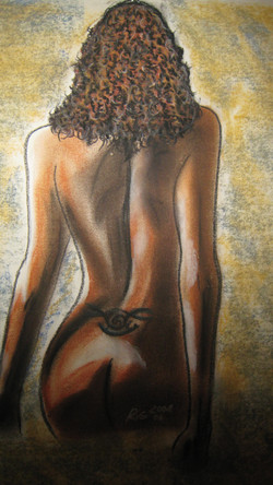 Brasilianische Rückenansicht