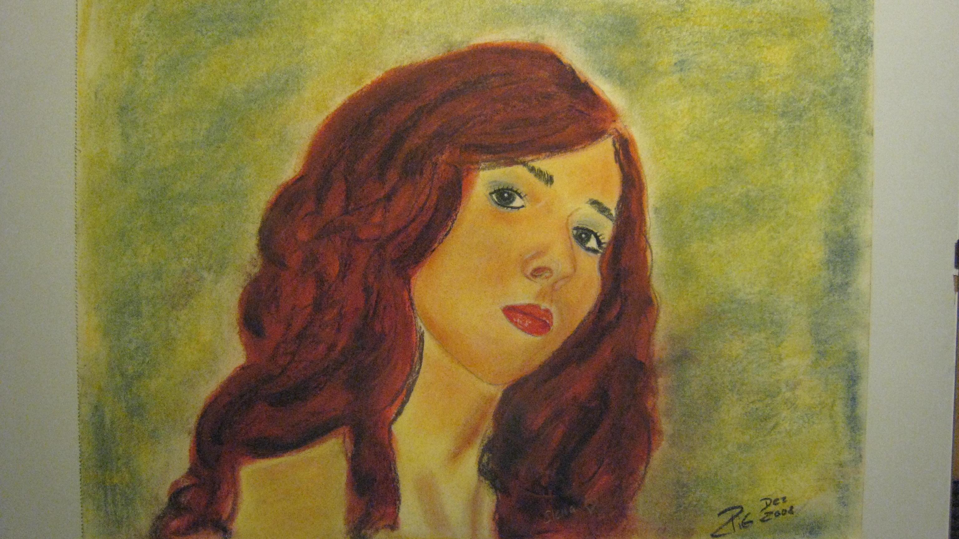 Porträt meiner jüngsten Tochter