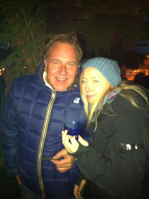 Mit Tochter Elena