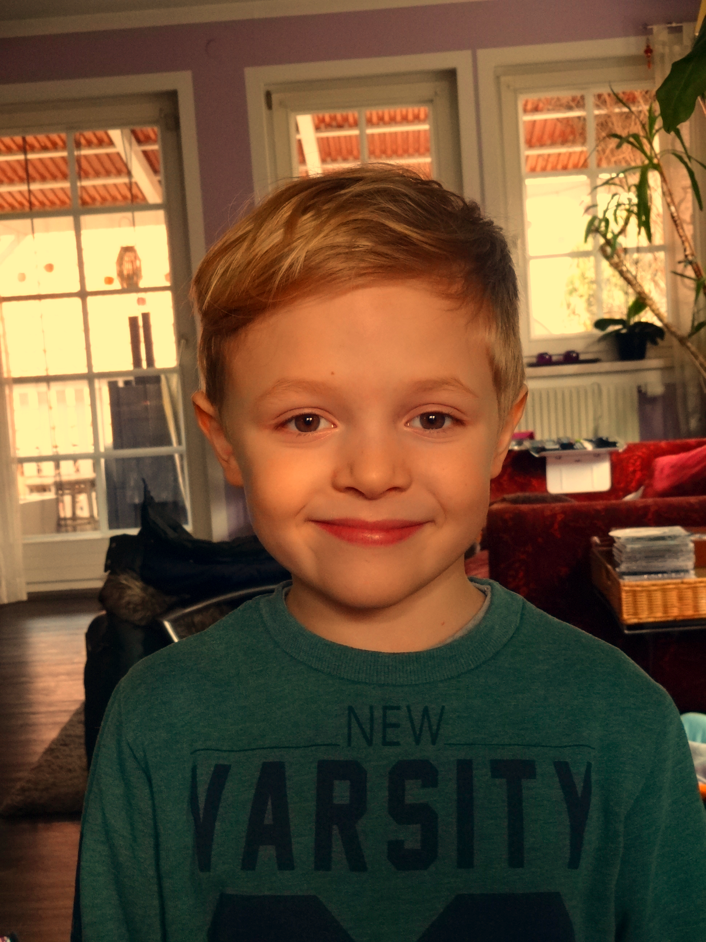 Levi mein erster Enkelsohn