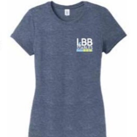 Women's Heathered Blue T-shirt