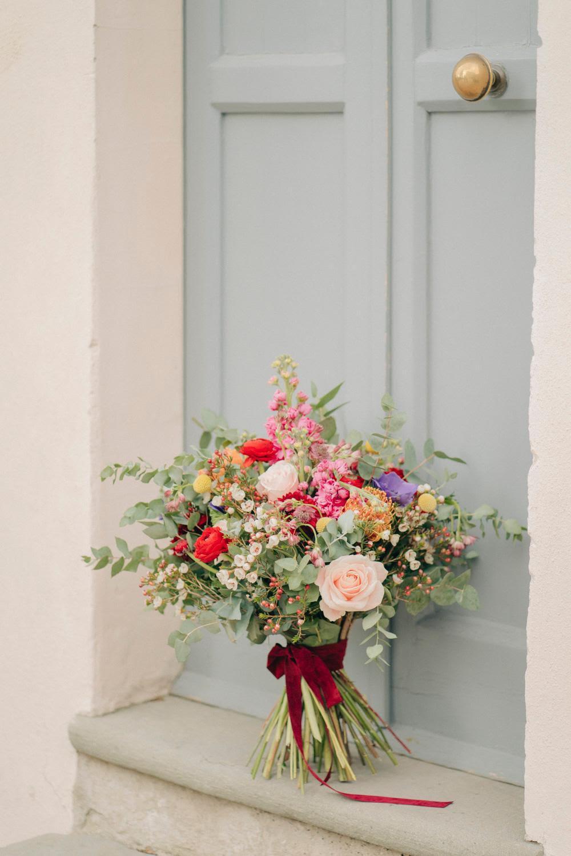 wedding bouquet - italian bride