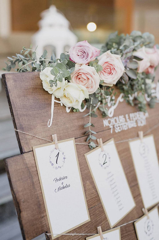 Welcome signage hand painted calligrafia dipinto a mano matrimonio tavola legno tableau de mariage
