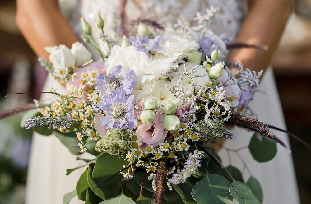 Wedding bouquet  - fiori di campo - bouquet sposa