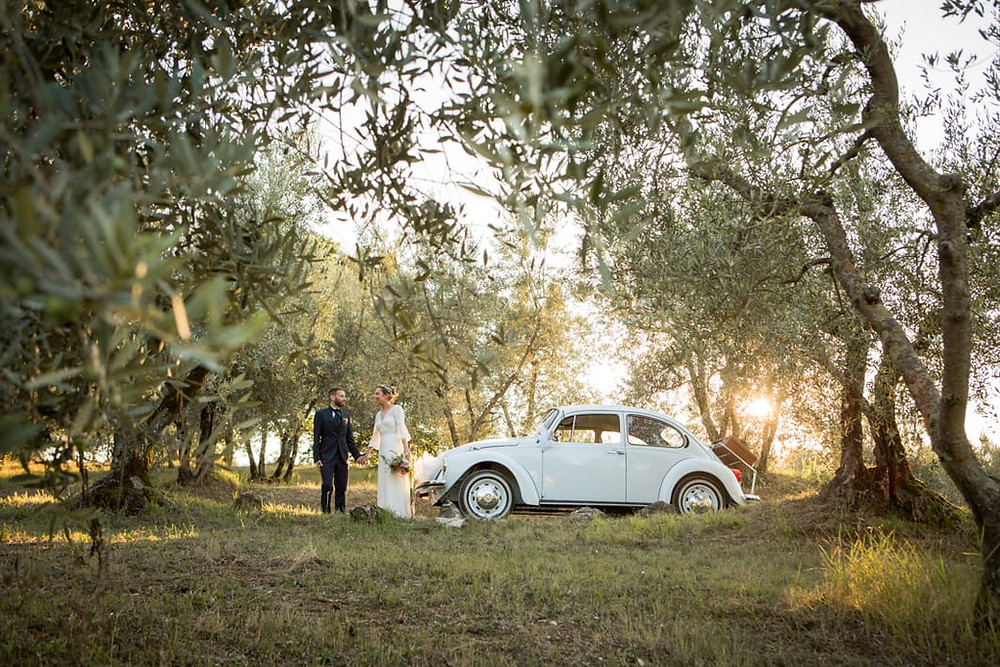 Tuscany wedding boho chic in Fiesole