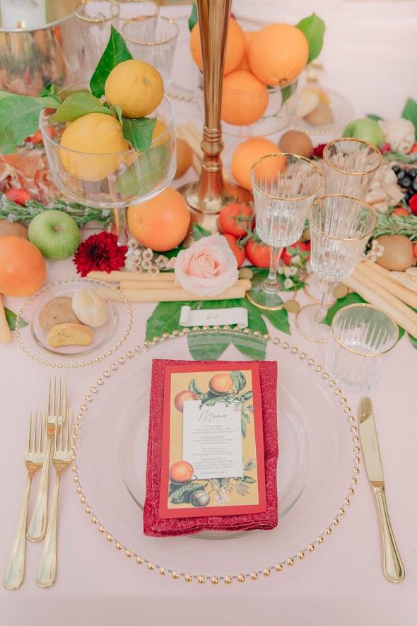 partecipazioni matrimonio fiori d'arancio calligrafia tuscany wedding invitation