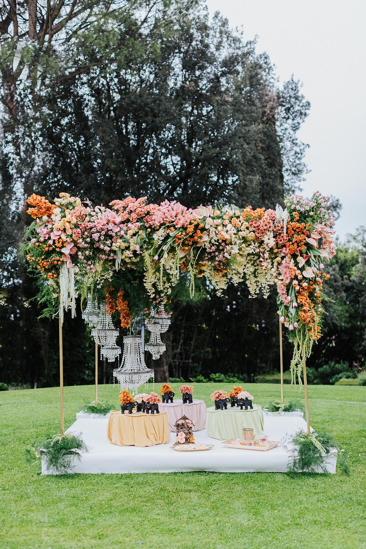 Indian wedding in Rome - bride & groom - wedding in italy