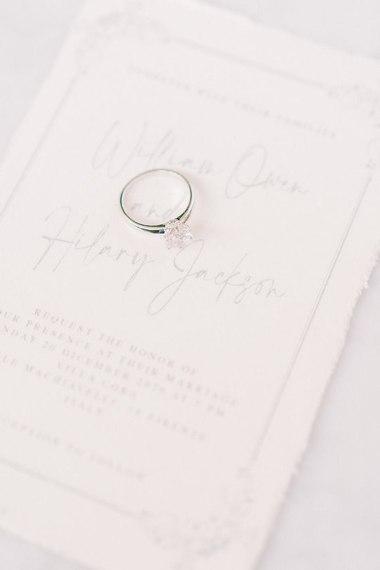 Partecipazione matrimonio carta amalfi