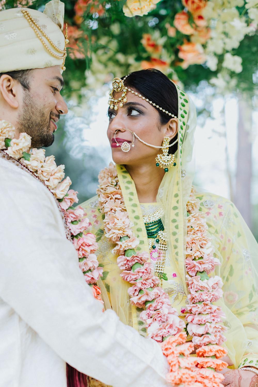 Indian wedding in Rome - bride & groom wedding in Italy