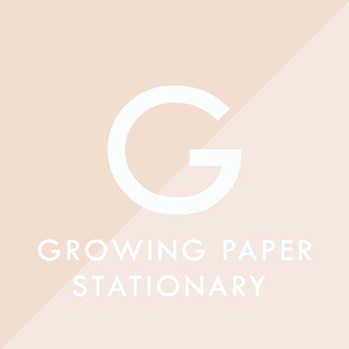 partecipazione matrimonio growing paper