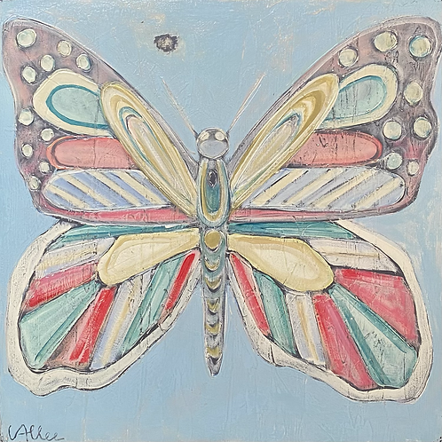 Butterfly 24x24x3  FREE SHIPPING