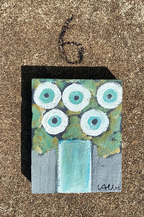Forget Me Not Six  4x6  FREE SHIPPING