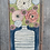 Thumbnail: Bouquet on Blue  16x32x3  FREE SHIPPING