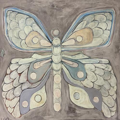 Big Butterfly  48x48x3