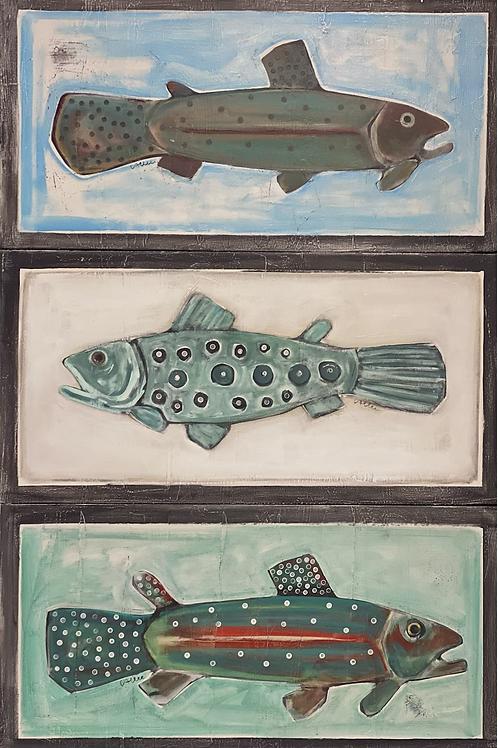Top Fish 16x32x3