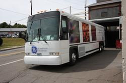 Life Science Bus Branding