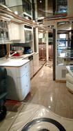 Prevost Kitchen Area