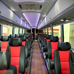 Custom Bus Interior