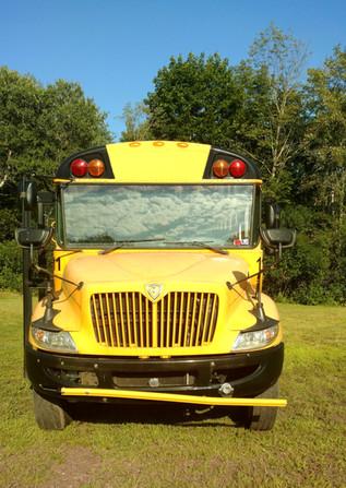 2012 International School Bus Front